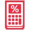 Loan Calculator Red